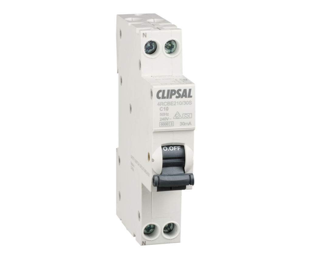 Compact safety switch provides the protection of a circuit breaker and a safety switch in one package